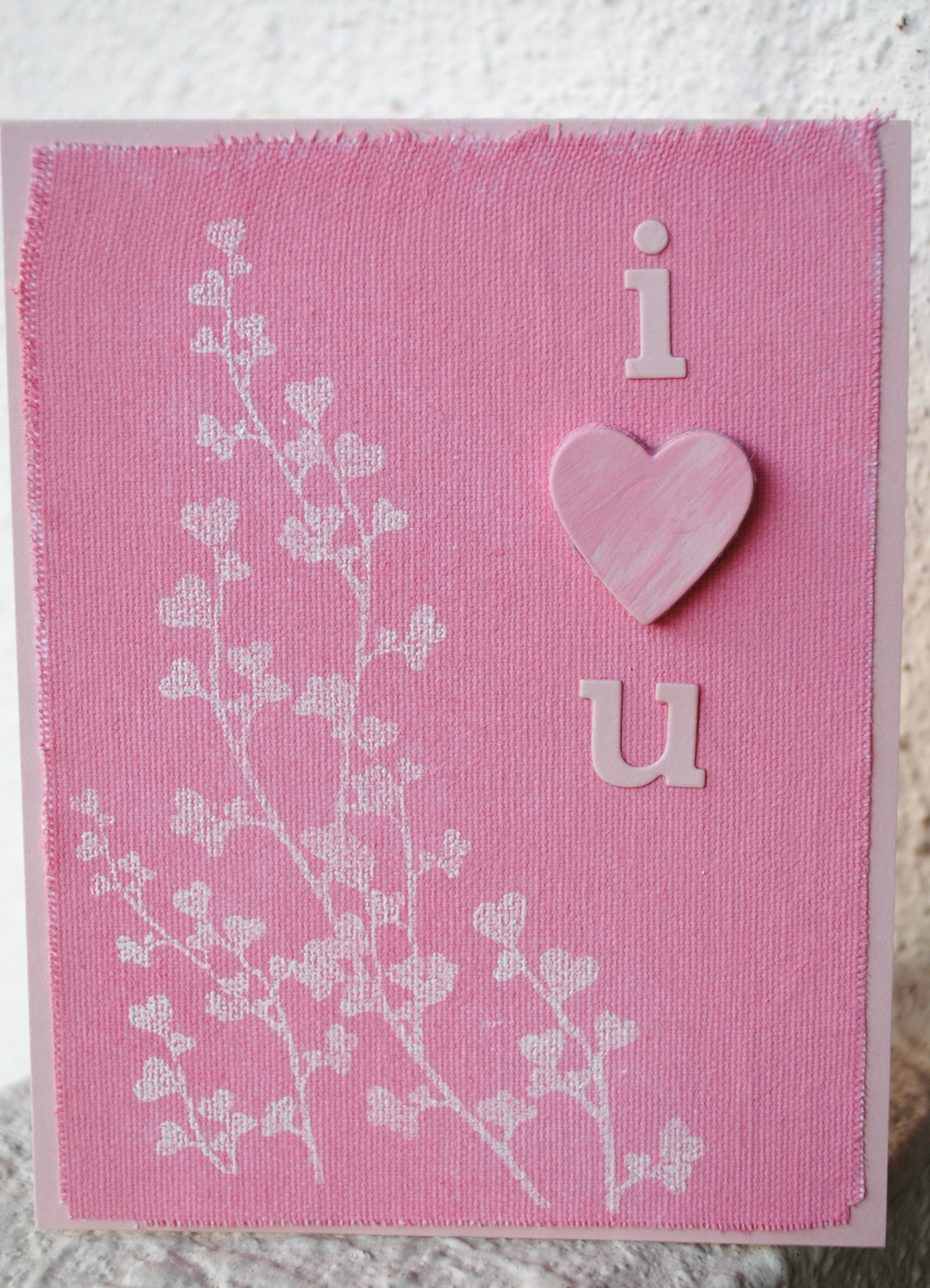 i love you card | stephinka