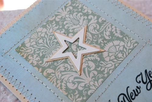 handmade card, new years card, handmade card singapore, mft star dies, challenge, papertrey ink happy day