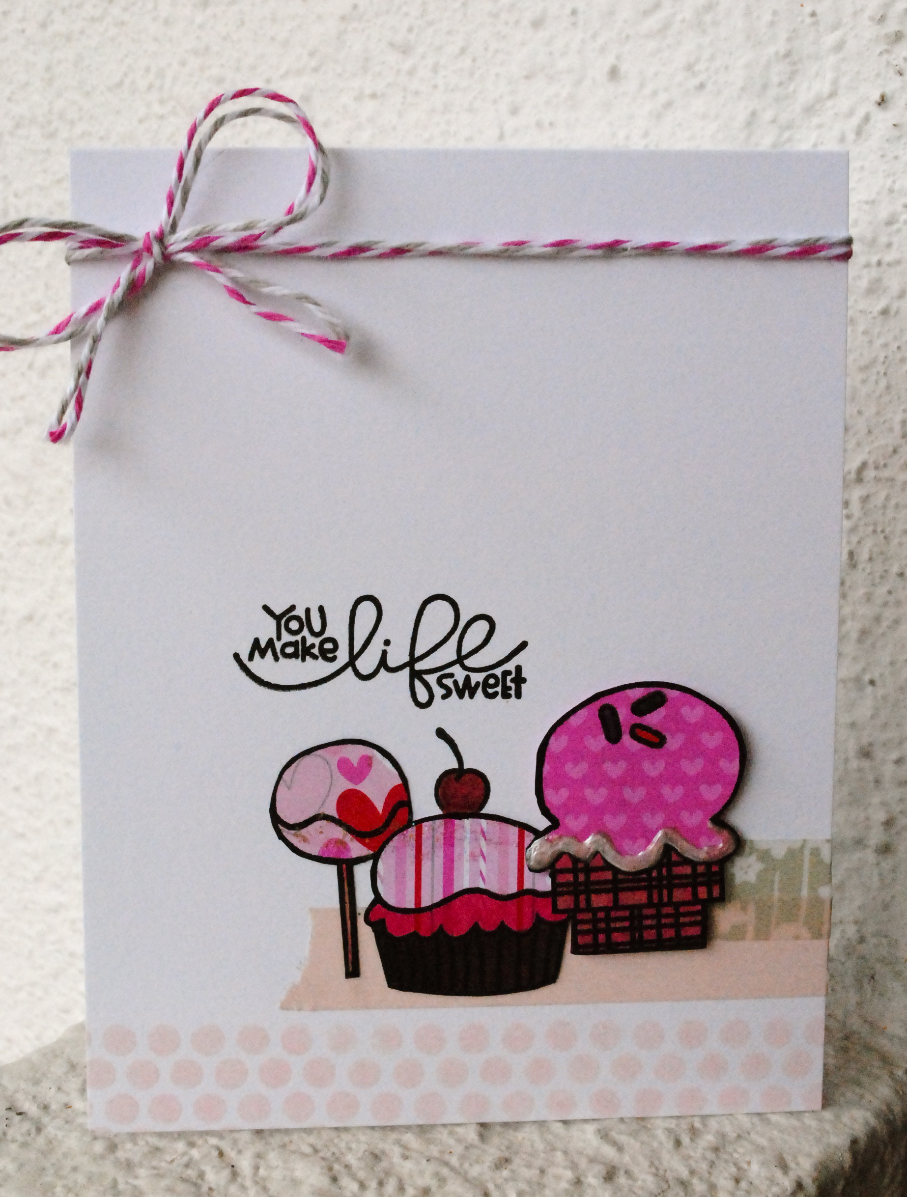Handmade Card Singapore Love Valentines Greeting