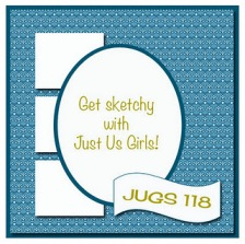 just us girls, handmade card, handmade card singapore, i love you card, valentines card, monochrome card, monochromatic card, purple card, wplus9 stamps, papertrey ink