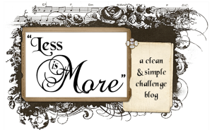 less is more challenge blog, chevron, stripes, handmade card, one word, hello card, black and white card