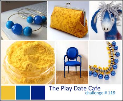 handmade card, handmade card for guys, handmade card for boys, happy birthday handmade card, blue, yellow, navy, scallops, papertrey ink