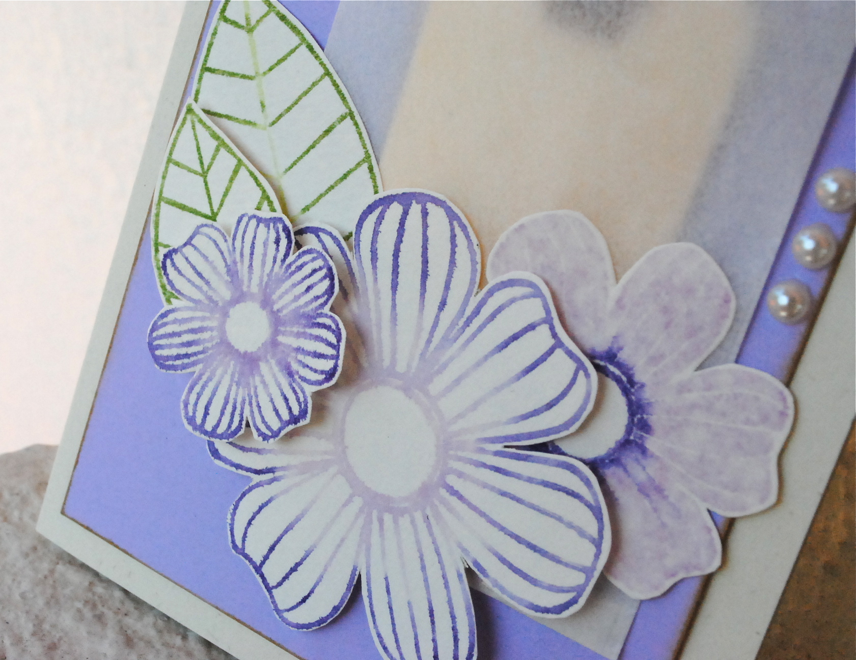 Handmade cards stephinka handmade floral cards handmade cards singapore hand cut flowers memento markers stamping and thecheapjerseys Images