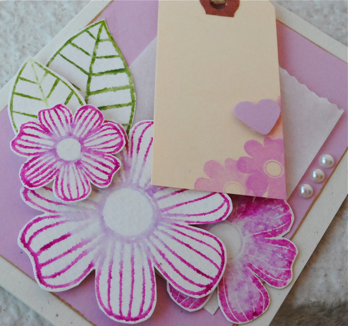 Handmade cards stephinka handmade floral cards handmade cards singapore hand cut flowers memento markers stamping and m4hsunfo